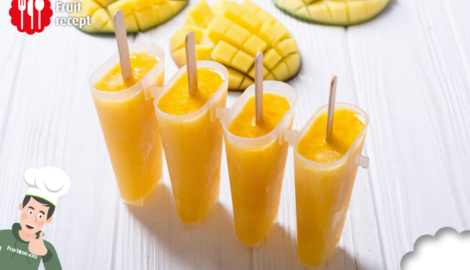 Mango ijslolly's
