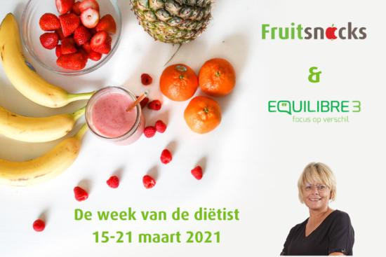 De week van de diëtist: Hoe je makkelijk fruit kan integreren in je dagelijkse voeding en bij ondervoeding