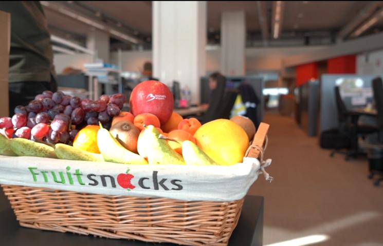 Hoe laat je de productiviteit stijgen met fruit op het werk?