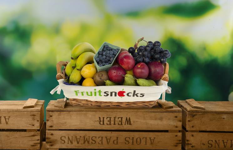 Fruit op het werk bij Katoen Natie in Antwerpen