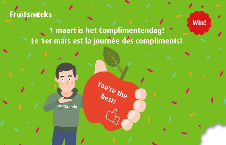 Waarom jij al eens een complimentje moet geven op de werkvloer + winactie Complimentendag