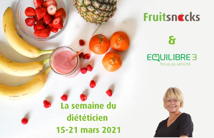 La semaine du diététicien: Comment intégrer facilement les fruits dans votre alimentation quotidienne et contre la malnutrition