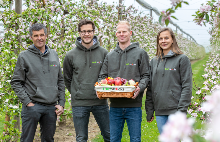 Fruitsnacks start met het leveren van fruit aan bedrijven in Duitsland